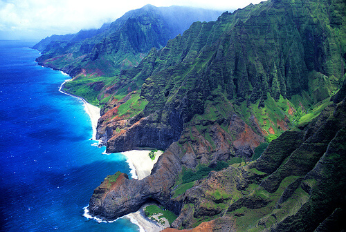 Diverse Island of Kauai, Hawaii, USA