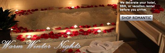 Romantic room decorations pet golf bachelorette - Romantic decorations for hotel rooms ...